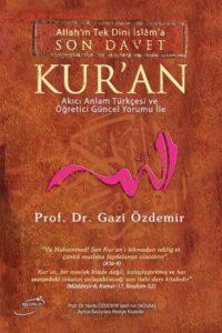 Prof. Dr. Gazi Özdemir Kuran Meali